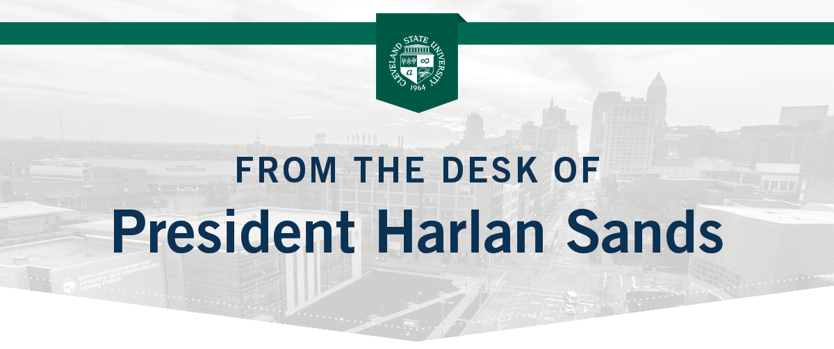 from the desk of Harlan Sands